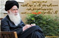 "آیت الله سید جواد حیدری: ""زنگ"" منزلگه حقّ، اهل بیت علیهم السلام هستند."